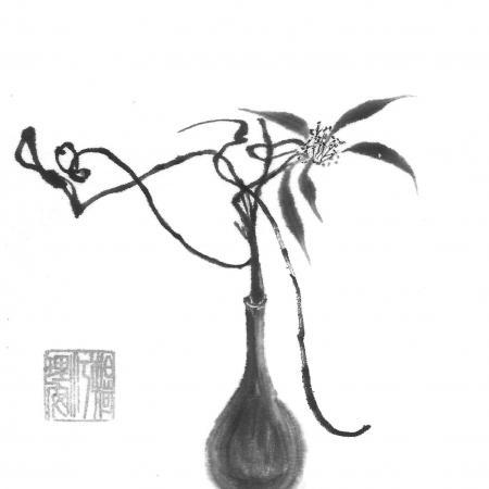 14bis vase et fleur au gre de l inspiration
