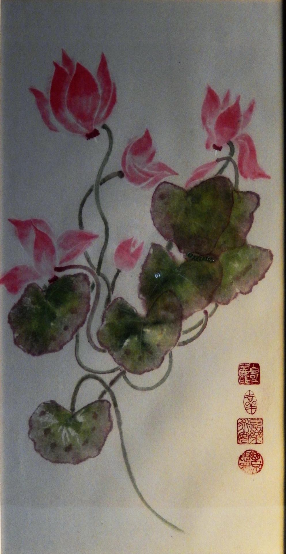 C.Battin-Fleur sacrée de l'amour au japon