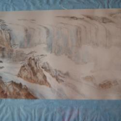 Cascades dans la brume Marialine Le Strat