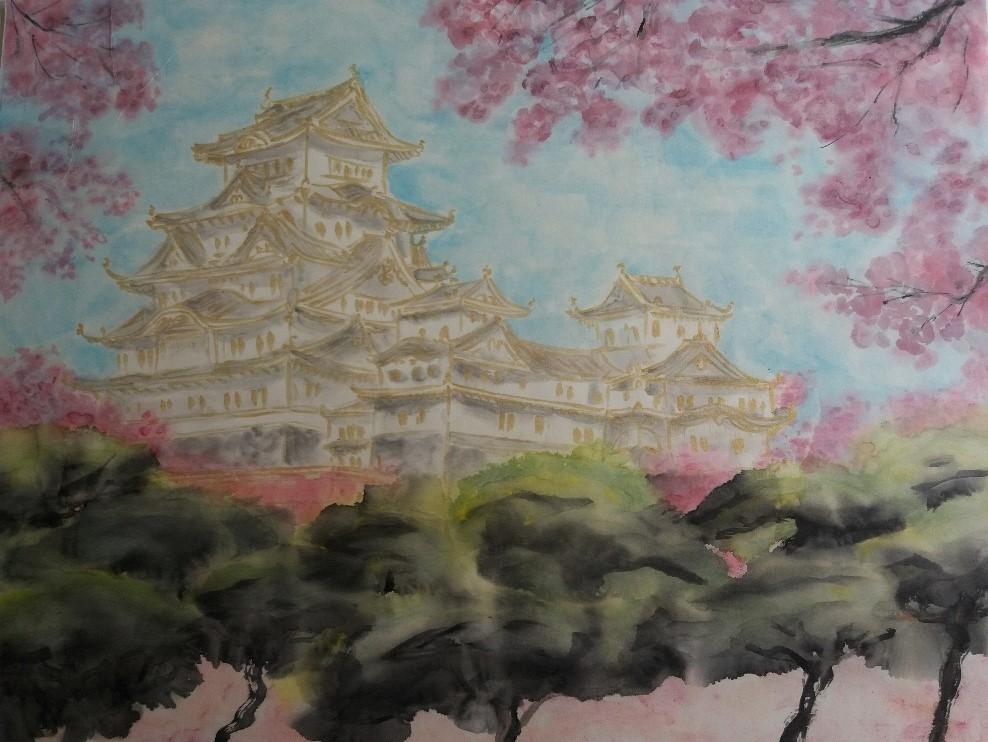 Château Himeji Japon