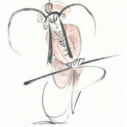 Danseur de l'Opéra de Pékin