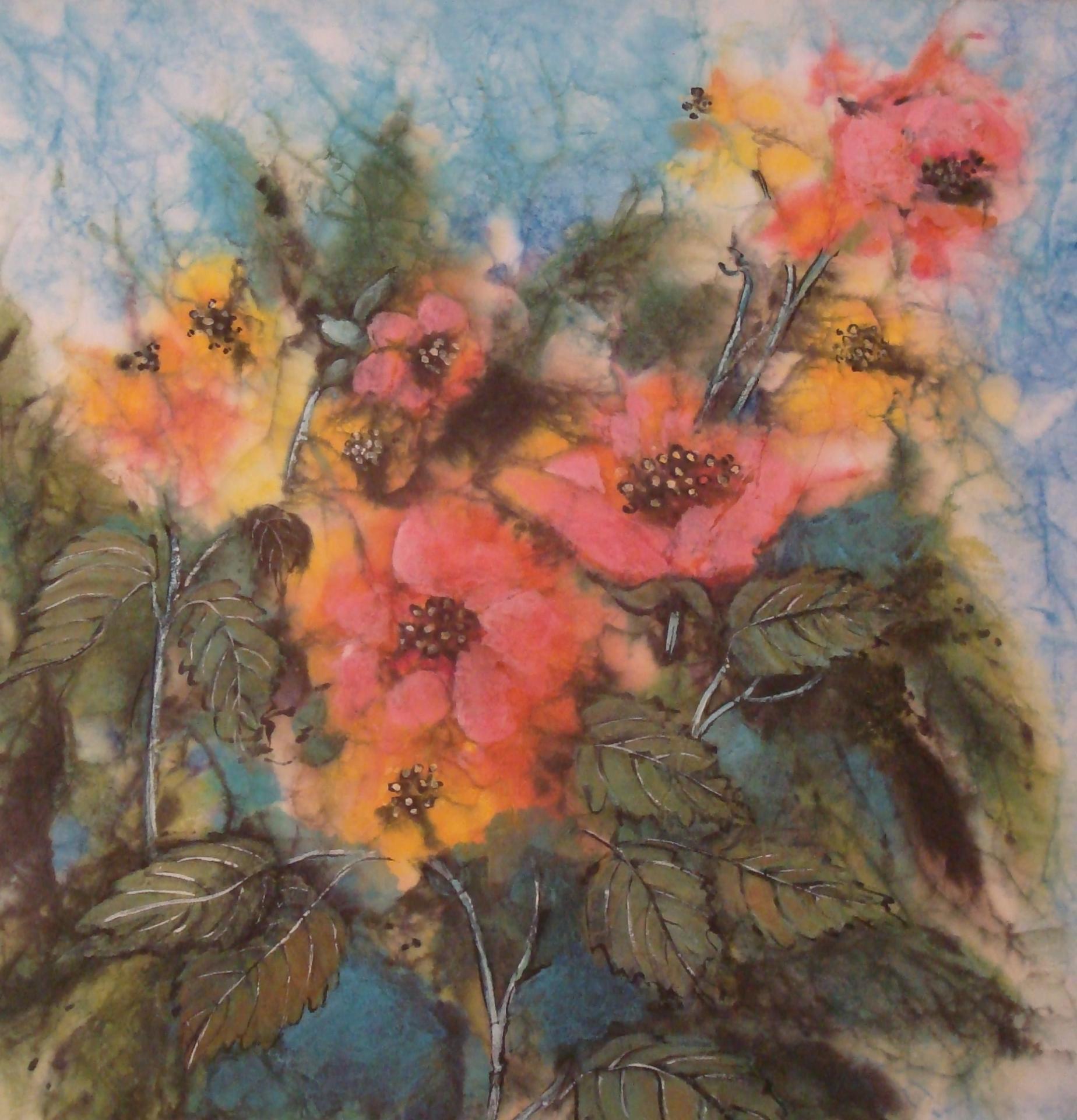 Fleurs arbres Danielle Delfino