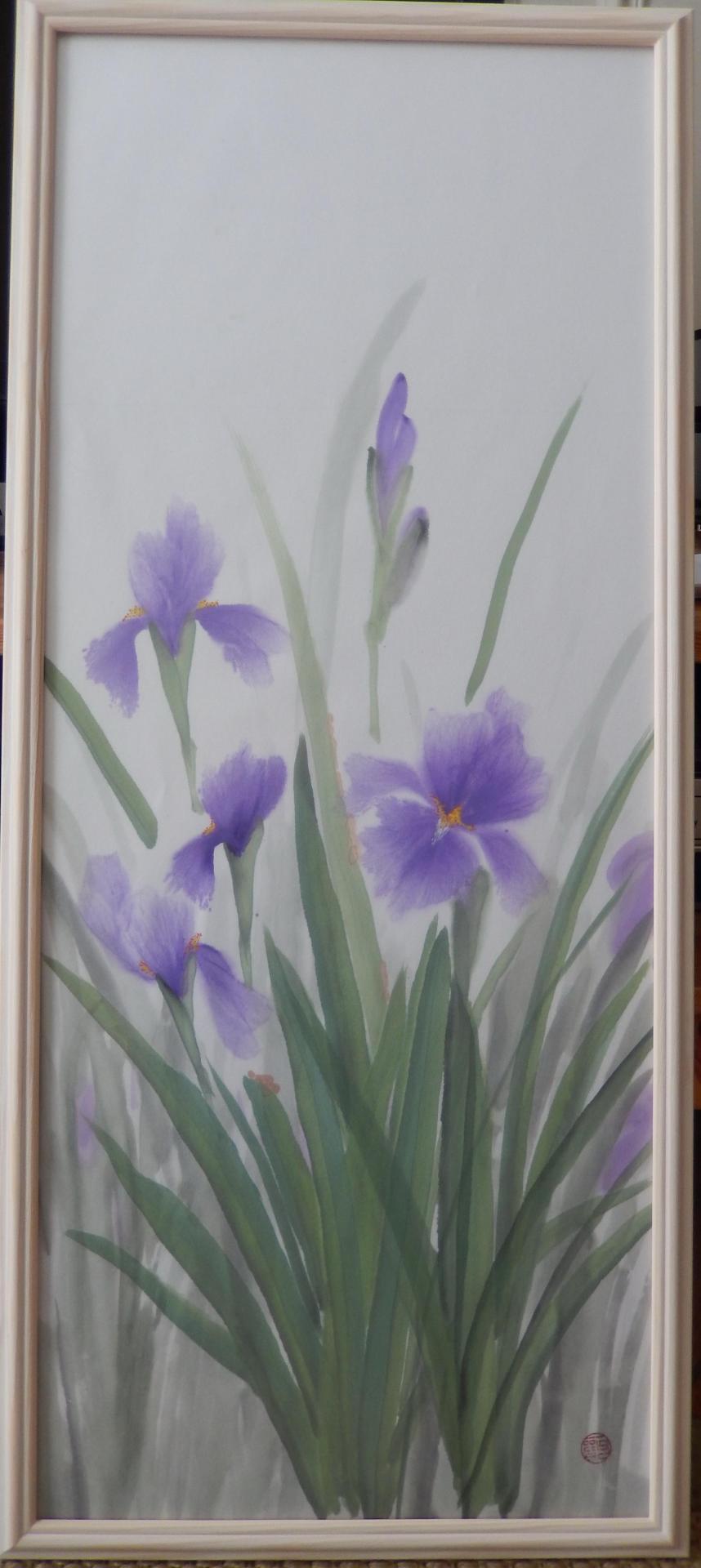 Iris japonais Colette Battin