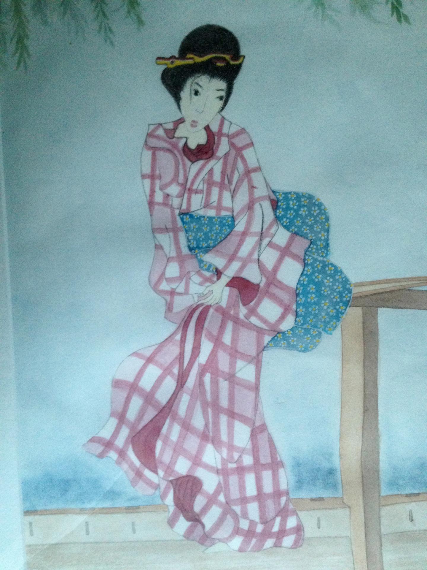 Le charme de la geisha Karima Desmazieres
