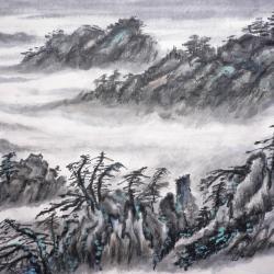 Majeste des montagnes de chine