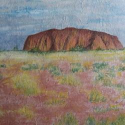 Mont Uluru Australie